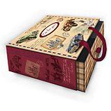 """Коробка подарочная """"Ретро машины"""", 16х16х8см., Феникс-Презент"""