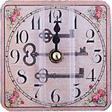 """Часы настольные """"Волшебный ключик"""" кварцевые, с циферблатом, Феникс-Презент"""