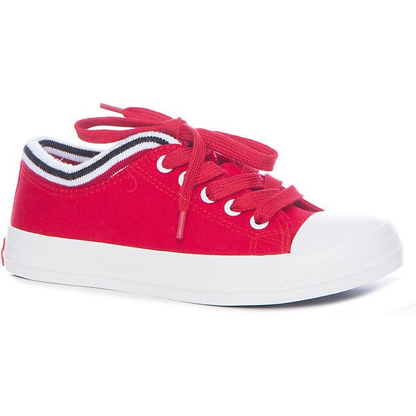 Кеды для девочки KEDDO, красный