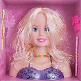Набор стилиста Принцесса с аксессуарами, блондинка, Shantou Gepai