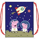 """Мешок для обуви """"Космос"""", Peppa Pig"""