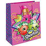 Пакет подарочный, 230*180*100, Shopkins
