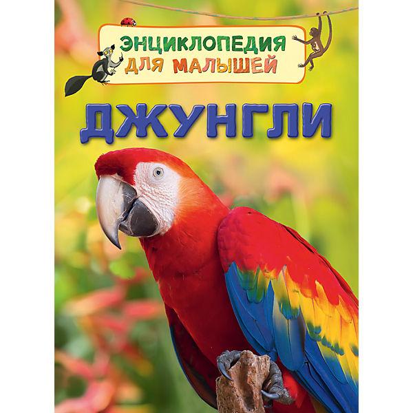 """Энциклопедия для малышей """"Джунгли"""""""