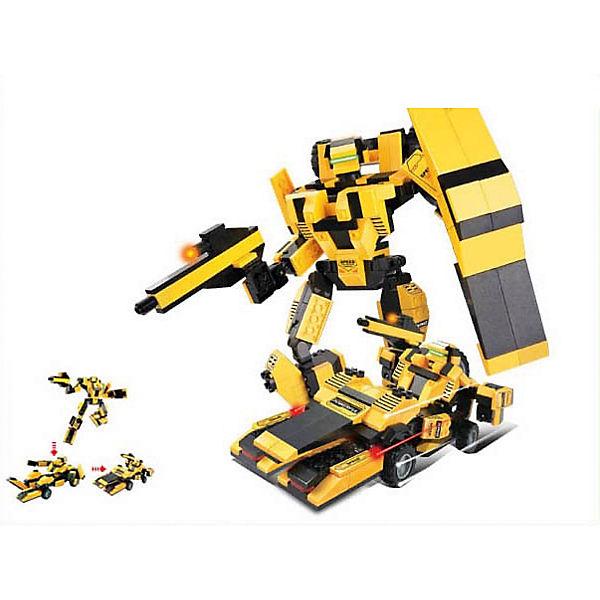 """Конструктор """"Космический десант: Робот-трансформер """"Король дороги"""", 284 детали, Sluban"""