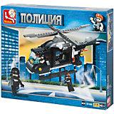 """Конструктор """"Полиция: Вертолёт"""", 219 деталей, Sluban"""