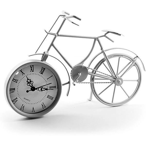 """Часы Miralight настольные """"Велосипед белый"""", Яркий праздник"""