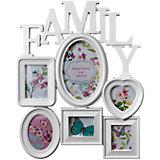 "Фоторамка Platinum ""Family"", пластик, белая, Яркий праздник"