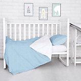 Комплект постельного белья Луны, звездочки Baby Nice, голубой