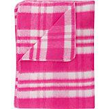 Одеяло байковое, хлопок, Клетка Baby Nice, розовый