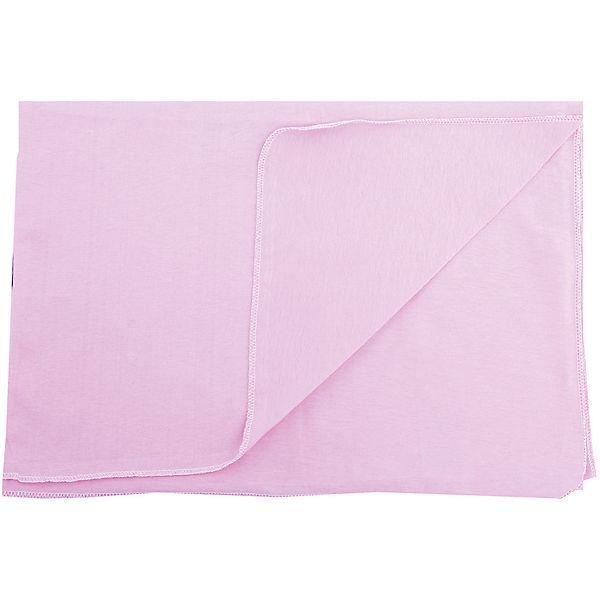 Пеленка трикотажная, 80*120, розовый