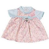 Платье для куклы, розово-голубое, Baby Annabell