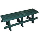 Скамейка 120х40х42, Alternativa, тёмно-зеленый