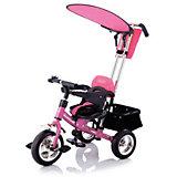 Велосипед трехколесный Lexus Trike Next Generation, розовый, Jetem
