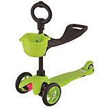 """Самокат 3-х колёсный с сидением """"Maxi Scooter"""", зелёный, 21st scooTer"""