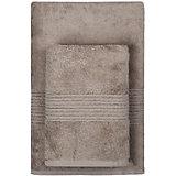 Полотенце махровое Maison Bambu, 70*140, TAC, коричневый (toprak)