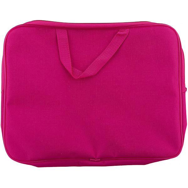 """Папка-сумка """"Тролли"""", с ручками, формат А4, текстильная"""