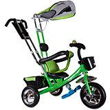 """Трехколесный велосипед """"Бронз Люкс"""", зеленый, Zilmer"""