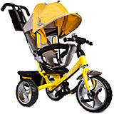 """Трехколесный велосипед """"Сильвер Люкс"""", желтый, Zilmer"""