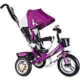 """Трехколесный велосипед """"Сильвер Люкс"""", фиолетовый, Zilmer"""
