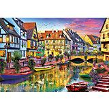 "Пазл ""Канал Кольмар, Франция"", 4000 деталей, Educa"