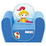 """Детское игровое кресло """"Рыцарь"""", голубой, PAREMO"""