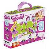 Конструктор INVENTOR GIRLS, 5 моделей, Engino