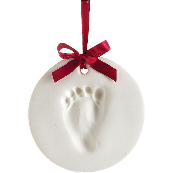Подарок на ленточке Пяточка-Ладошка (Отпечаток) Шар, Pearhead
