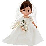 """Кукла """"Зачарованные сны. Невеста"""", брюнетка, 30 см, Precious Moments"""