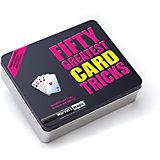 """Набор фокусов  """"50 величайших  карточных фокусов"""""""