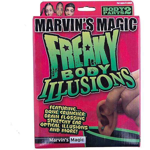 """Набор фокусов """"Смешные ужасы  и иллюзии с  частями тела"""""""