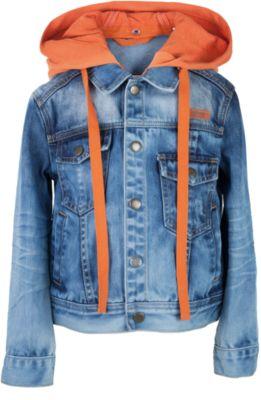 Куртка джинсовая для мальчика Gulliver - синий