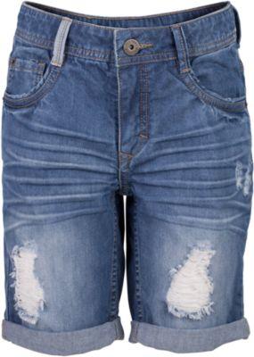 Шорты джинсовые для мальчика Gulliver - синий