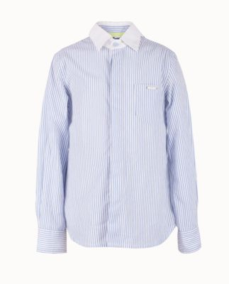 Рубашка для мальчика Gulliver - голубой