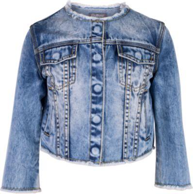 Жакет джинсовый для девочки Gulliver - голубой