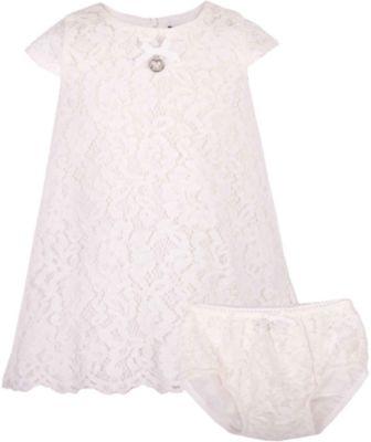Комплект: платье и шорты для девочки Gulliver - белый