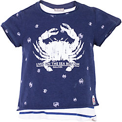 Комплект: майка и футболка для девочки Gulliver