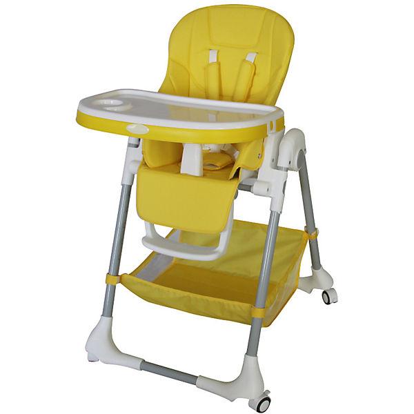 Стульчик для кормления, Aricare, Yellow