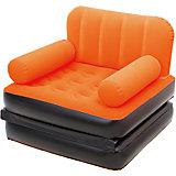 Кресло-кровать надувное, оранжевое, Bestway