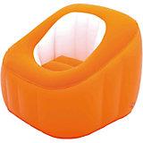 Кресло надувное, 74х74х64 см, оранжевое, Bestway