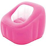 Кресло надувное, 74х74х64 см, розовое, Bestway