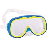 """Детская маска для подводного плавания """"Исследователь"""", голубая, Bestway"""
