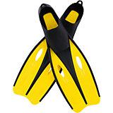 Ласты для плавания для взрослых, р-р 40-42, Bestway, желтые