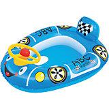 """Круг для плавания с сиденьем """"Автомобиль"""", Bestway, голубой"""