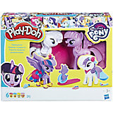 Набор для лепки Hasbro Play-Doh My little pony - Твайлайт и Рарити