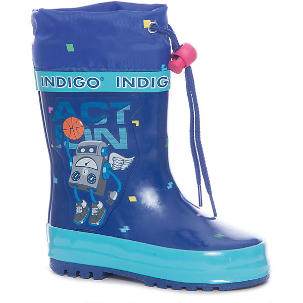 Резиновые сапоги для мальчика Indigo kids