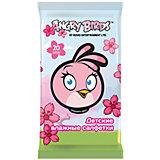 Влажные салфетки детские Angry Birds (девочка), Авангард