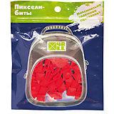 Набор для рюкзака 4ALL пиксель-Бит, красный, 80 шт