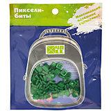 Набор для рюкзака 4ALL пиксель-Бит, темно-зеленый, 80 шт