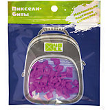 Набор для рюкзака 4ALL пиксель-Бит, ярко-фиолетовый, 80 шт