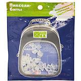 Набор для рюкзака 4ALL пиксель-Бит, флуоресцентный зеленый, 50 шт